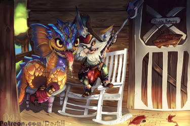 [COMMISSION] Kled - This Land Is My Land! by DoskiiLee