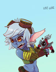 Don't Take My CS! - Tristana Champ Memotion Entry by DoskiiLee