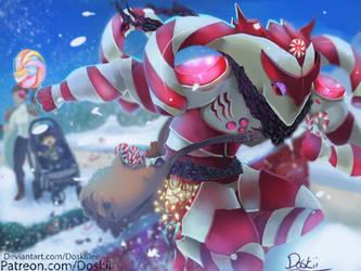 [Commission] Candy Kayn Rhaast by DoskiiLee