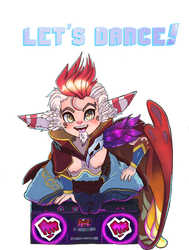 Let's Dance! Rakan Shirt/Sticker Design by DoskiiLee