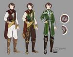 {C} Rough Outfit Design for PerkeleCrow