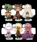[OPEN 1/6] Fantasy Adopts! WanNyan Collaboration~!