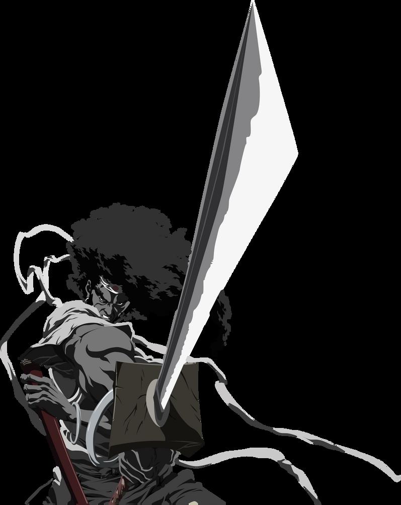 Afro Samurai Vector by Joan-487 on DeviantArt