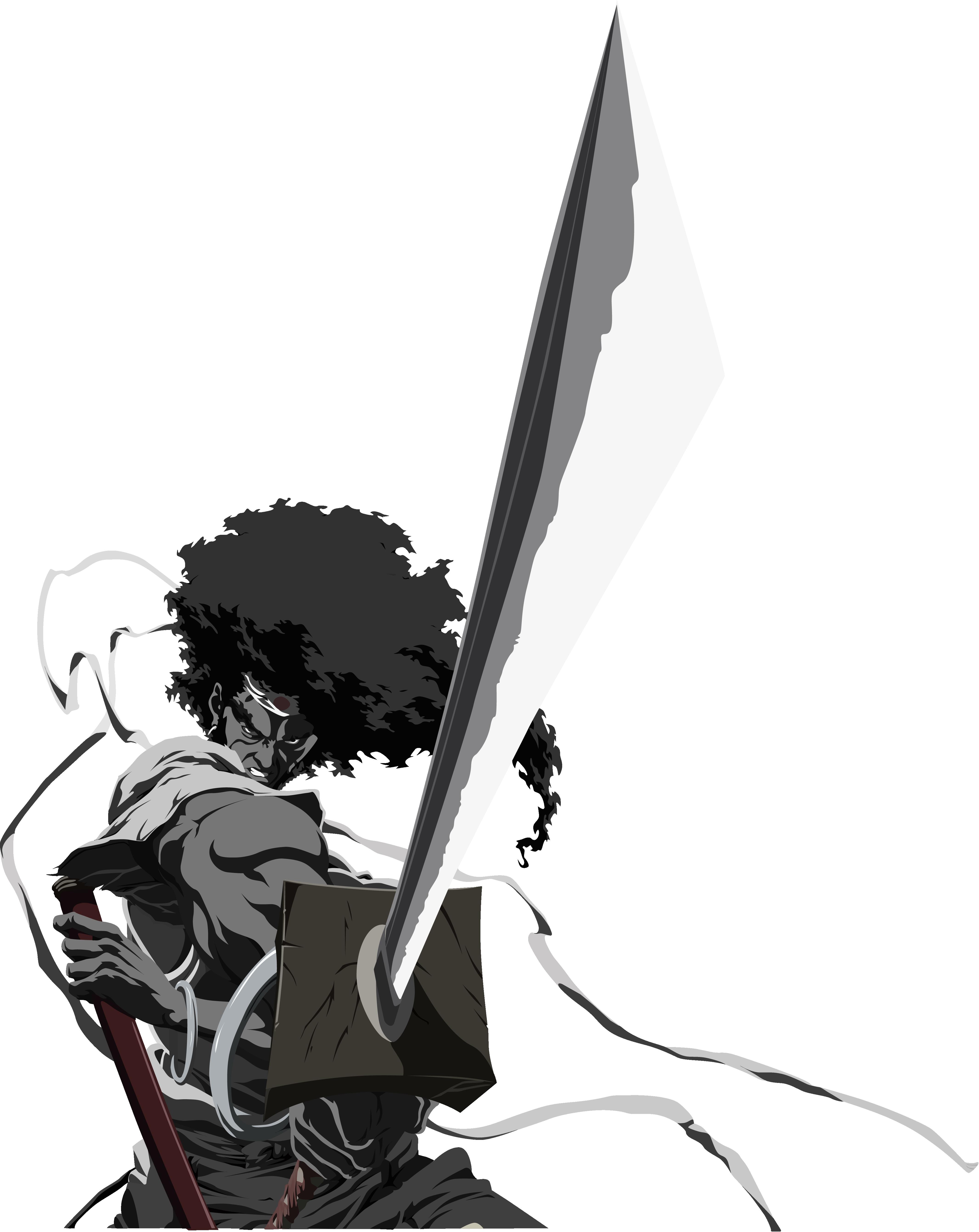 Afro Samurai!