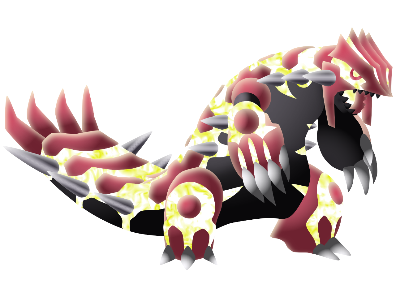 Primal Groudon Custom Artwork by PrimalMoron on DeviantArt