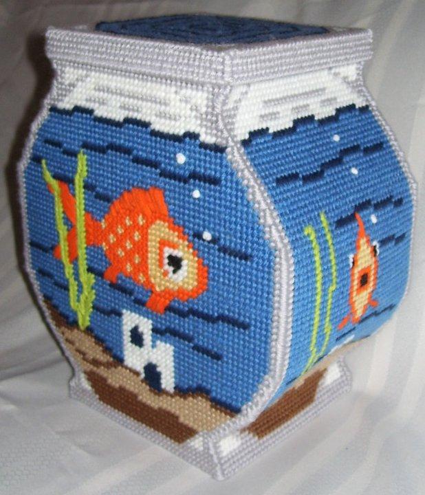 Fish bowl piggy bank by ladytech