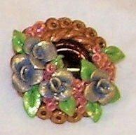 Blue rose pin by ladytech