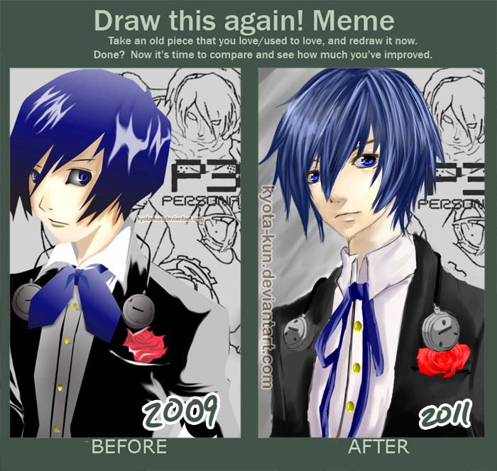 Draw this again meme by kyota-kun