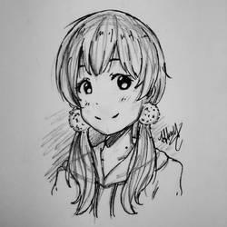 Tamako Kitashirakawa by XxPandaxStarxX
