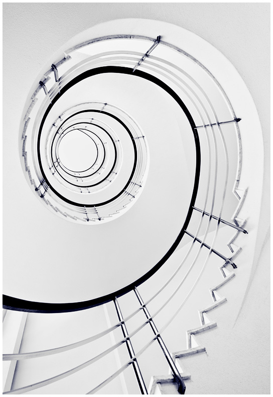 White Staircase by zuckerblau