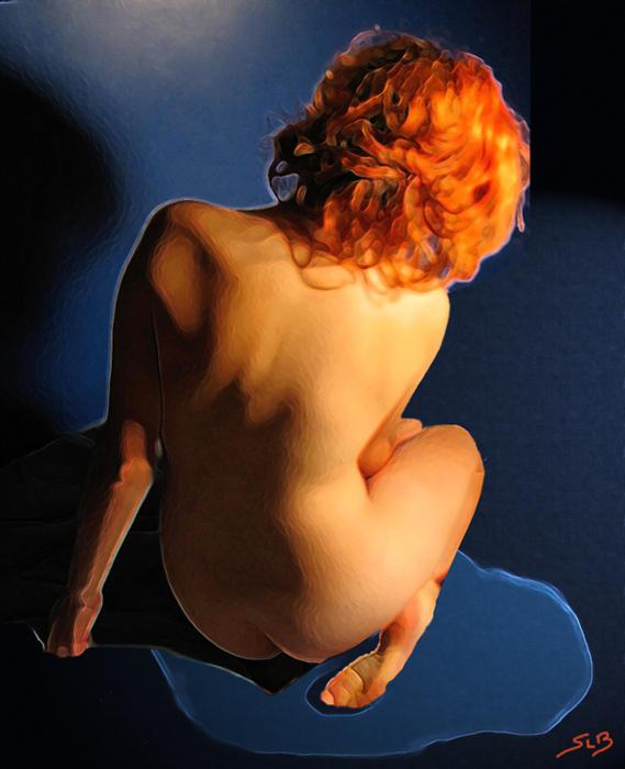 storming orange by sinad