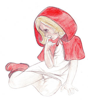 Red riding hood cutie