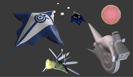 Projet Lyoko 5 3D by WordenHood