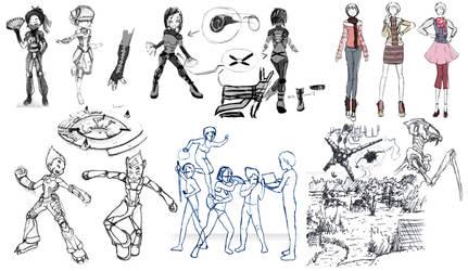 Projet lyoko 5 Concepts by WordenHood