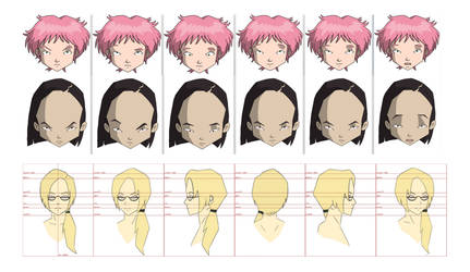 Projet lyoko 5 Faces