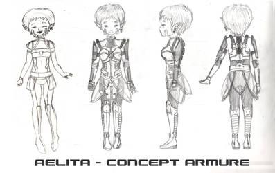 Aelita Armor concept