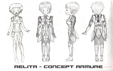 Aelita Armor concept by WordenHood