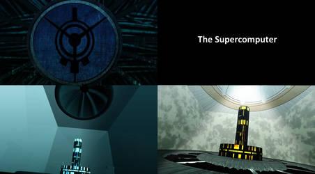 Projet lyoko 5 Supercomputer by WordenHood