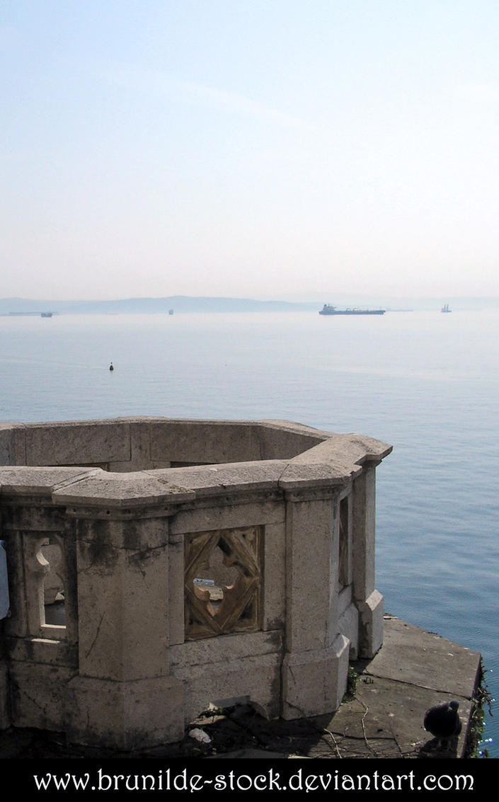 Miramare's Castle - Balcony 4 by brunilde-stock