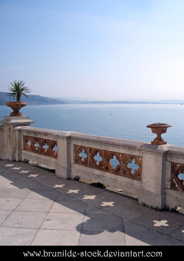 Miramare's Castle - Balcony 5 by brunilde-stock