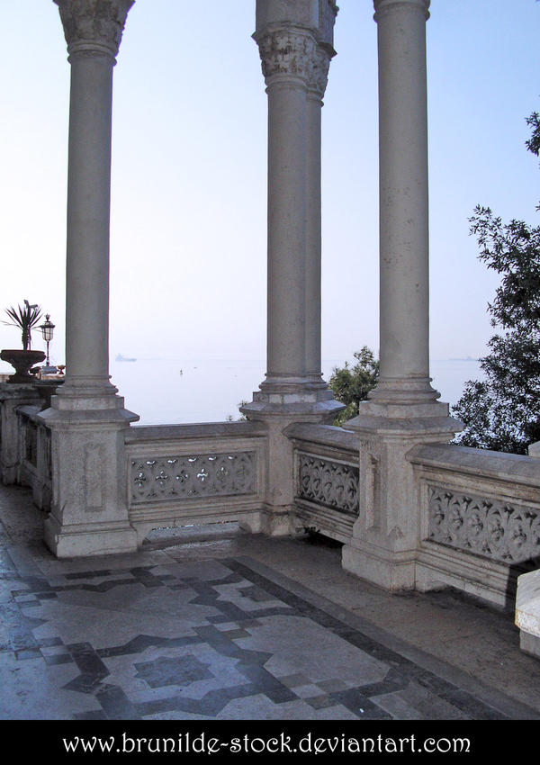Miramare's Castle - Balcony 8 by brunilde-stock