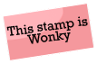 Wonky stamp by SeppukuR