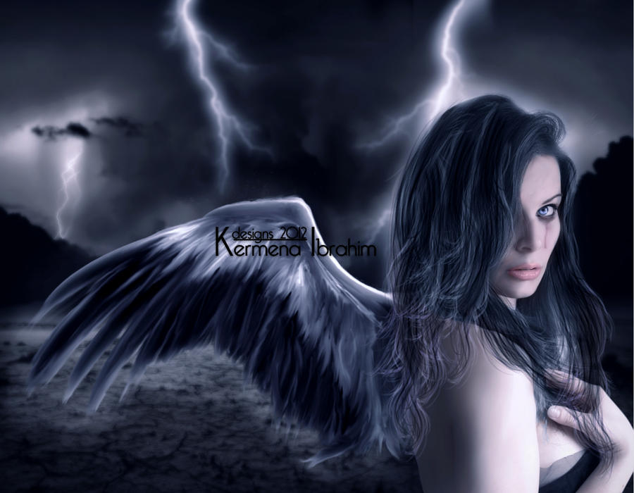 Tears Of An Angel II by Kermena-Designs