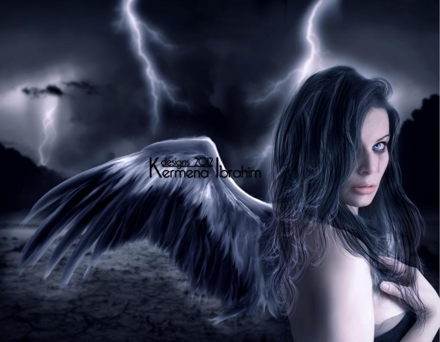 Tears Of An Angel II by Kermena-Designs
