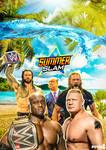SummerSlam Custom Poster 2021