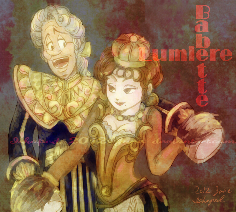Lumiere Et Babette By Ishaped