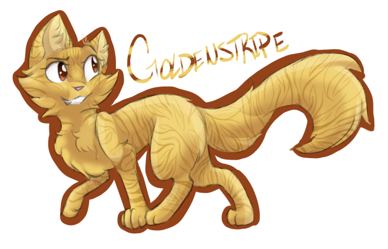 Goldenstripe +request+ by Skystar-Warrior