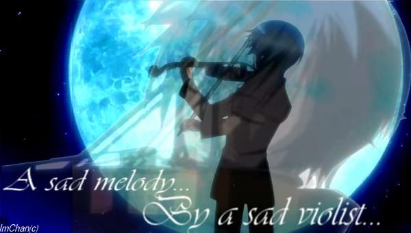 Sad melody by a sad Violist by ImChanTheHedgehog on DeviantArt