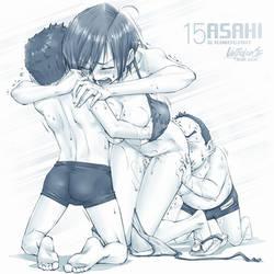 ASAHI and KIMOGAKI /15 by UnBaLanCE-Pic