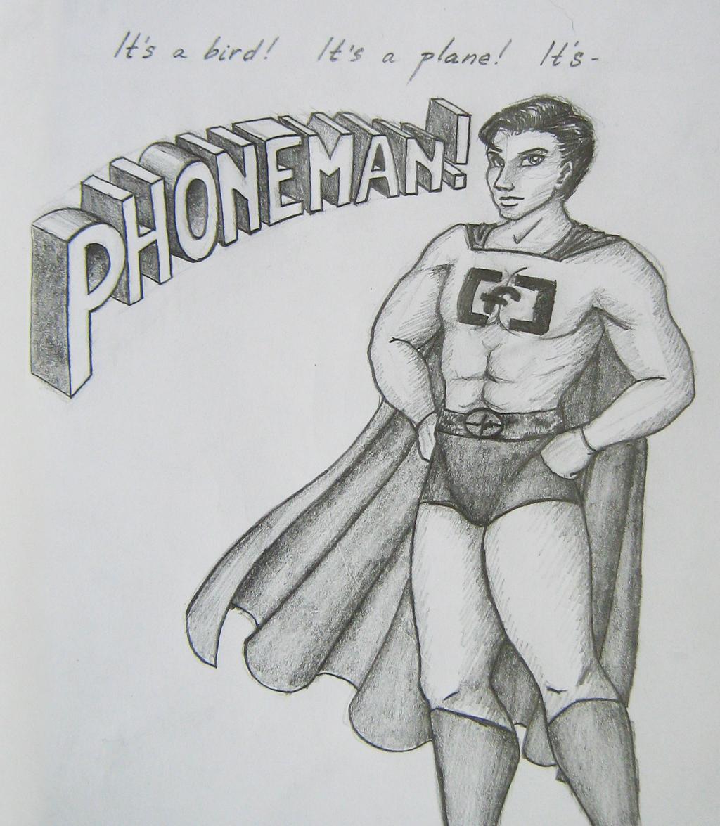 Phoneman by Letty94