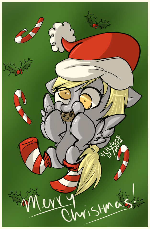 Merry Christmas from Derpy by Velexane