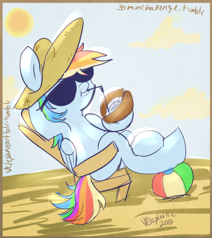 Beachy Dash by Velexane