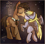 Doctor Whooves x Derpy Hooves