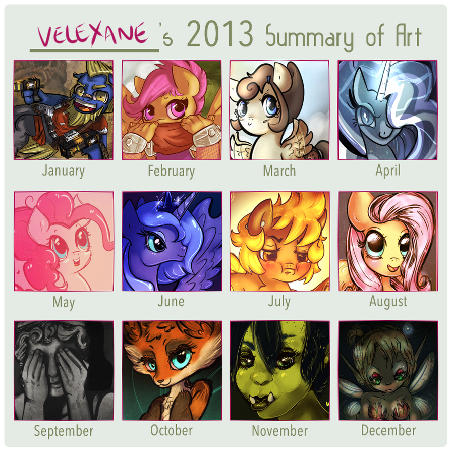 Summary of 2013 by Velexane