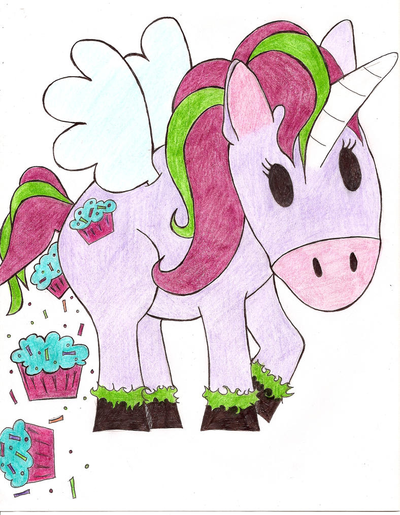 unicorn shittin cupcakes by cupcake zombie on deviantart