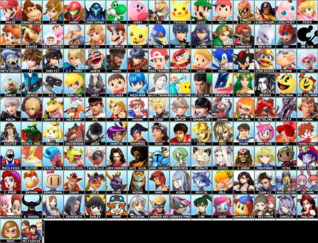 My Dream Super Smash Bros. Roster