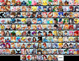 My Dream Super Smash Bros. Roster (Updated)