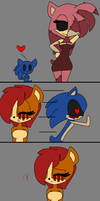 Suicide Mouse x Sally.exe comic