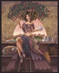The Coffee Lady by Fugaz-Star