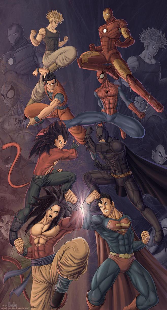 Clash of the Titans by Fugaz-Star