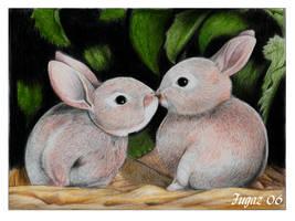Conejitos - Bunnies by Fugaz-Star