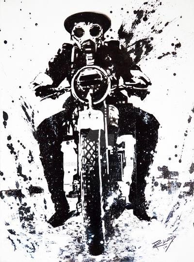 WW1-Biker by Rescope