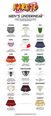 Naruto: Men's Underwear