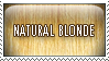 Stamp Natural Blonde by mongrelmarie