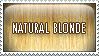 Stamp Natural Blonde by mongrelmarie
