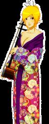 Hani Hachi: Kimono and Erhu by mongrelmarie